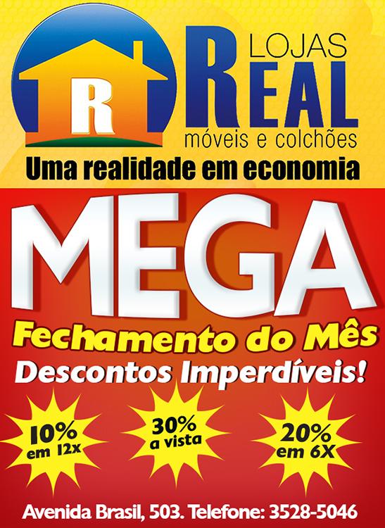 Mega Fechamento de m�s - Lojas Real