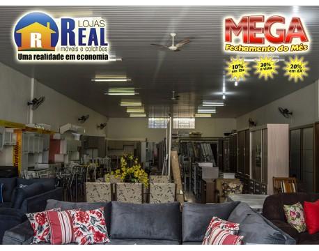Mega Fechamento de m�s nas Lojas Real M�veis e Colch�es