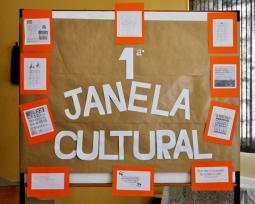 Confira as fotos da 1� edi��o da Janela Cultural realizada pela Etec