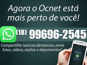 Anote o n�mero do WhatsApp do portal Ocnet