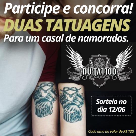 Dia Dos Namorados Concorra A Duas Tatuagens Do Estúdio Dú