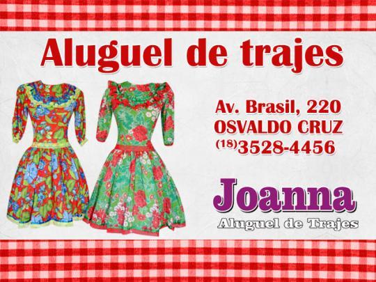 db0ca74c75 Trajes para quadrilhas e festa junina estão na Joanna Aluguel de ...
