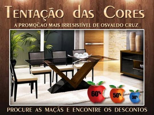 0da7a40ac081c Tenda Móveis promove Tentação das Cores com descontos de até 60 ...