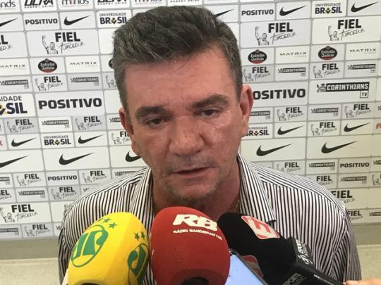 Andrés Sanchez durante entrevista na Arena Corinthians (Foto  Bruno  Cassucci) 8475d2171c4f3
