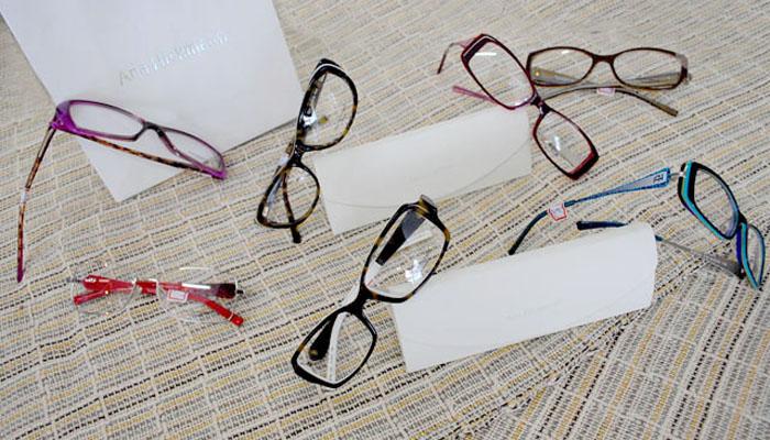 Ótica Veja  confira as novidades em óculos da Ana Hickmann - Mulher ... 27e7a8ae74