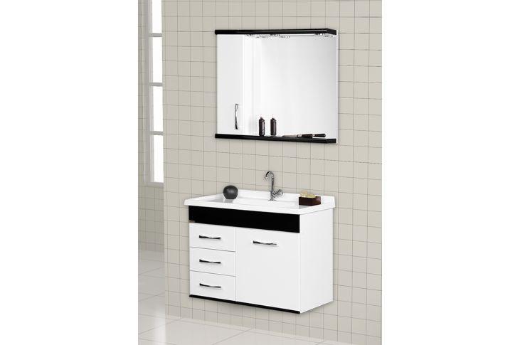 Casa Avenida traz novidades pias e gabinetes para banheiro A J Rorato  De -> Armario Para Banheiro Aj Rorato