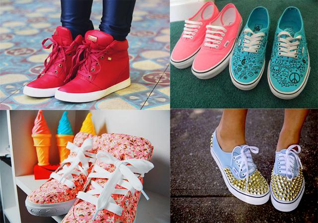 f9740d238fc45 ... sapatos femininos moda 2016. Fotos: Sandálias; Sapatilhas;  Rasteirinhas; Botas; Mocassim; Tênis