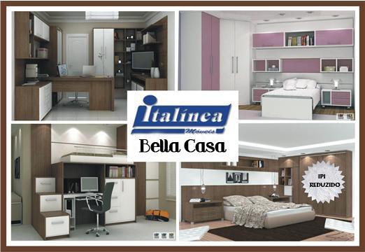 Bella Casa Saiba como escolher móveis planejados e inove  ~ Quarto Planejado Infantil Italinea